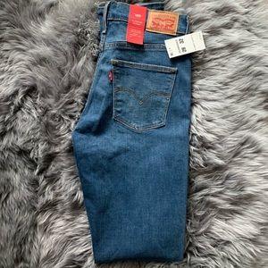 Levi's Blue Skinny Jeans